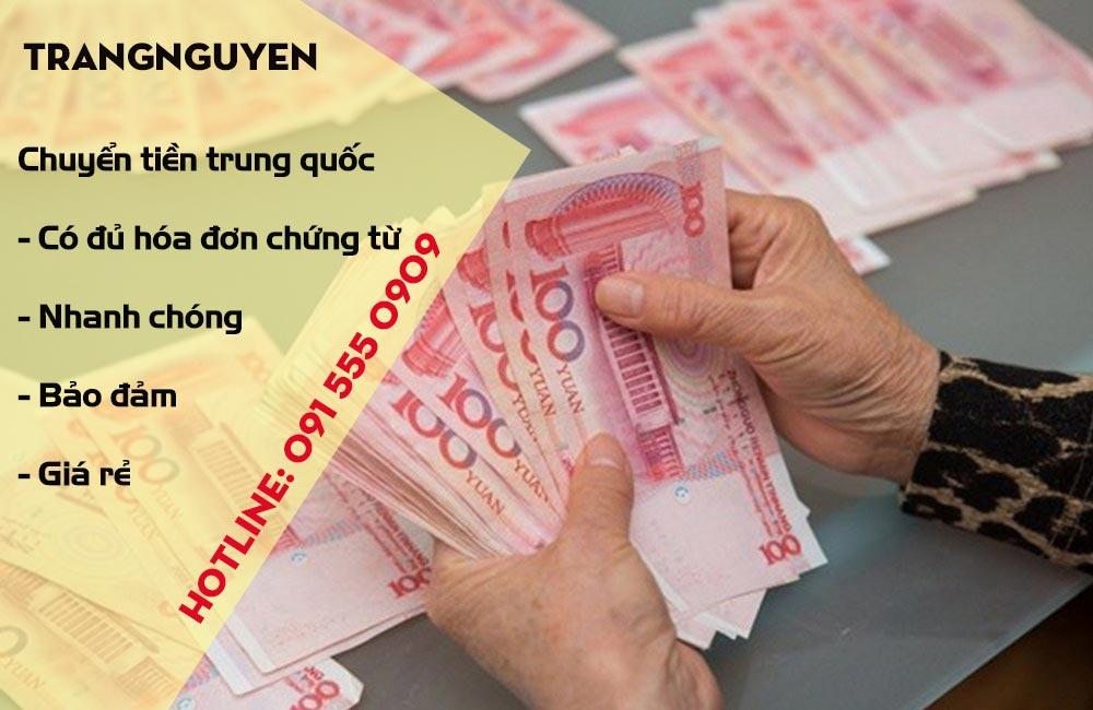Chuyển tiền qua Trung Quốc nhanh gọn giá rẻ