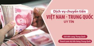 Dịch vụ chuyển tiền Trung Quốc nhanh