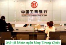 Điều kiện để mở tài khoản ngân hàng tại Trung Quốc
