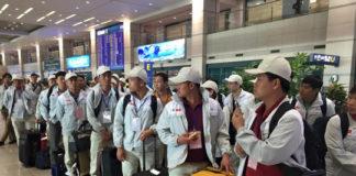 Lao động Việt Nam chuẩn bị sang Trung Quốc làm việc