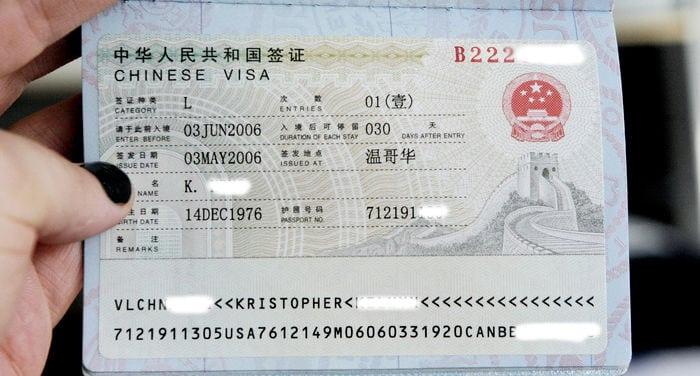 Làm visa Trung Quốc để đi du lịch