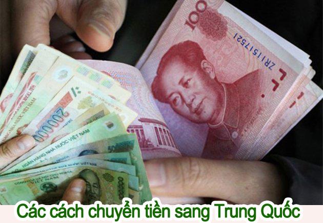hình thức chuyển tiền Trung Quốc an toàn